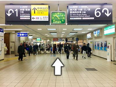 アイプラス 高槻グリーンプラザ店道順1