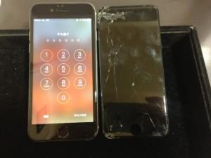 iphone7 gamen broken 190522