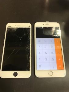 iPhone6s 液晶画面破損