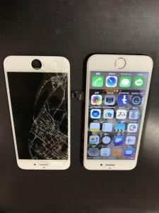 iPhoneSE画面修理 210321