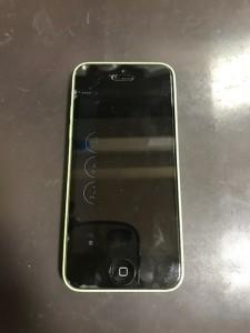 画面が映らなくなったiPhone5c