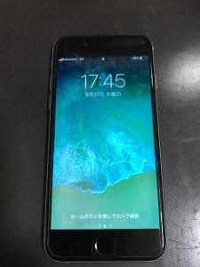 画面青いiPhone6 液晶不良
