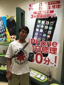 iPhone7 ドックコネクタ修理 お客様