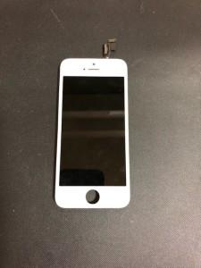 急に画面が映らなくなったiPhone5の画面