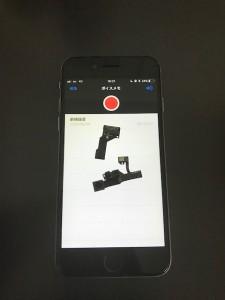 iPhone6sと切れたインカメラ