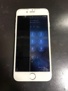 画面左が映らなくなったiPhone6s