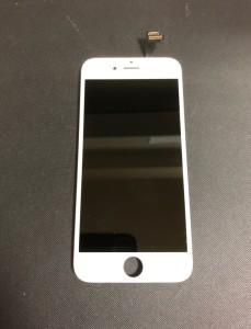 水没したiPhone6の画面