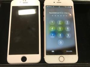 iPhone6sと交換したパネル