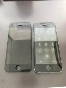 iPhone5sと交換したパネル