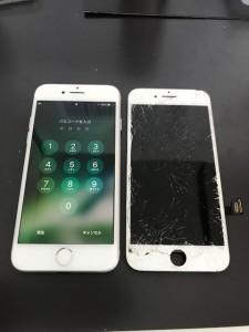 iPhone7と交換したパネル