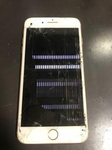 液晶がダメになったiPhone8Plus