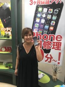 iPhone7の画面修理でご来店のお客様