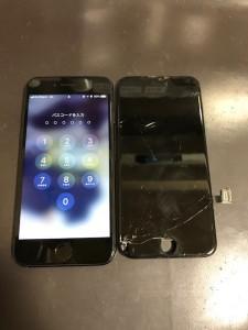 iPhone8Plusと交換したパネル