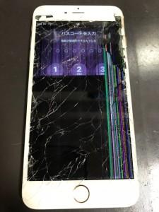 液晶がダメになったiPhone6Plus