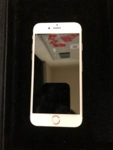 水没したiPhone6