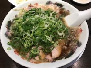 来来亭のチャーシュー麺