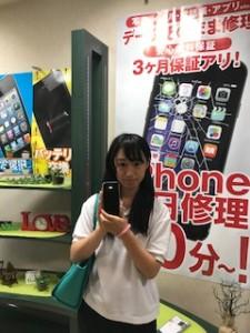 iPhone6の画面修理にご来店頂いたお客様
