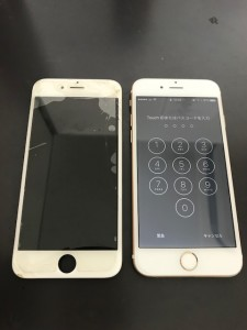タッチの反応が悪いiPhone6