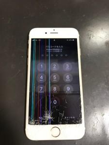 液晶がダメになったiPhone6s