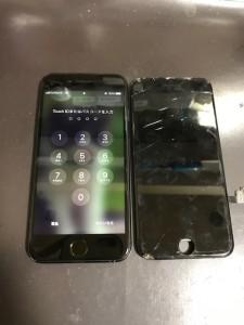 アイフォン7 画面割れ修理