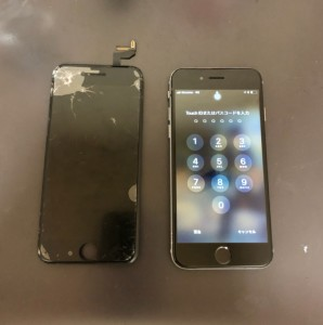 iphone6 gamen ware 200506