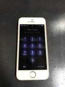iPhoneSE 液晶不良の画面