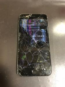 液晶不良のiPhone6sPlus