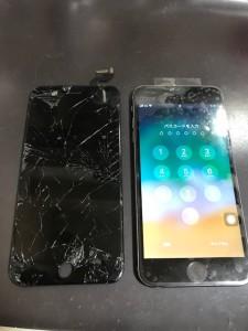 iPhone6sPlus液晶画面修理