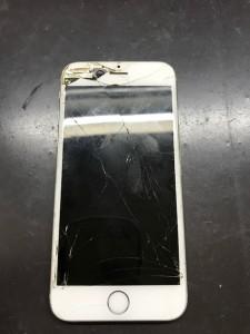 iPhone6s画面割れ