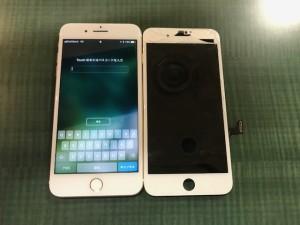 iPhone7Plus 液晶画面修理