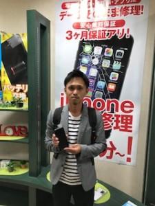 iPhone6の修理にご来店頂いたお客様