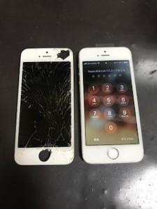 iPhoneSE液晶画面修理