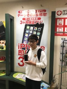 iPhone6sPlusのバッテリー交換のお客様
