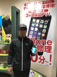 iPhone6sバッテリー交換のお客様