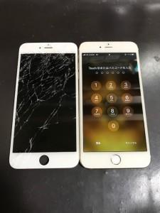 iPhone6Plus液晶画面修理
