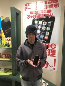 iPhone7 液晶画面修理のお客様