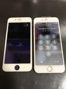 iPhone6s 液晶画面修理