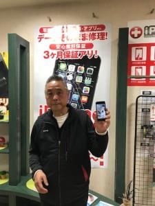 iPhoneSE 液晶画面修理のお客さま