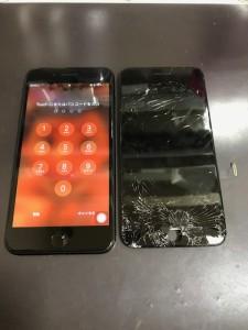 iPhone7Plus液晶画面修理