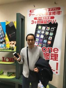 iPhone6 バッテリー交換のお客様