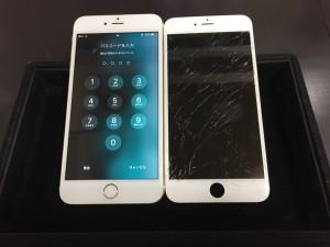 アイフォン6Plus画面交換