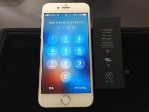 iPhone6バッテリー交換