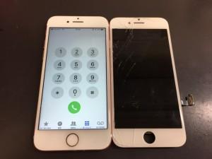 iPhone8 液晶画面修理