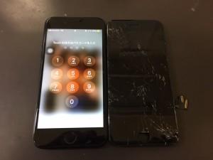 iPhone7、液晶破損、伊丹、T,H様