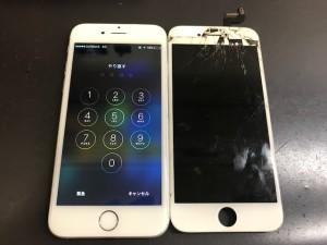iPhone6 画面割れ修理
