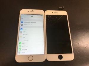iPhone6s フロントパネル修理