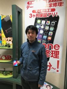 iPhoneSE バッテリー交換