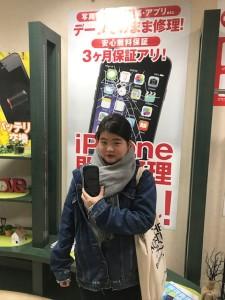 iPhoneXの修理にご来店のお客様