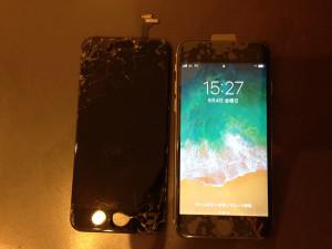 iPhone6 画面全体修理
