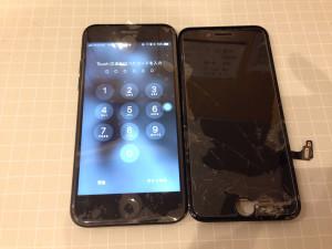 画面修理 アイフォン7
